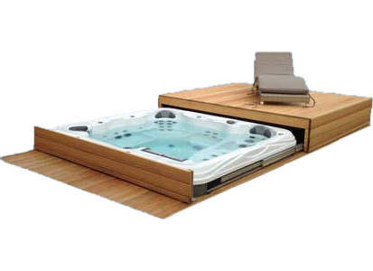 Spa en Swimspa roll deck cover systeem