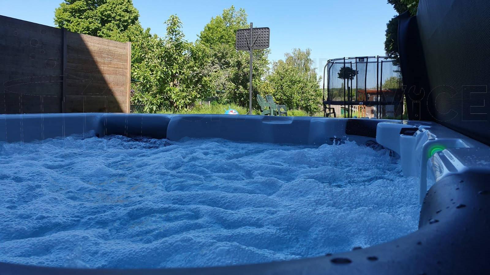 Plaatsing van een spa in Vilvoorde België