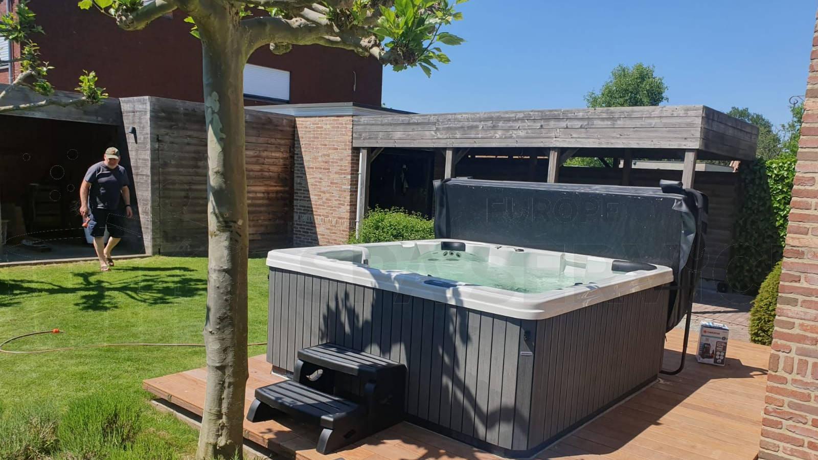 Plaatsing van een spa in Westerlo België