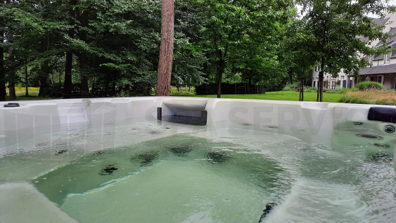 Plaatsing van een spa in Oud Turnhout België