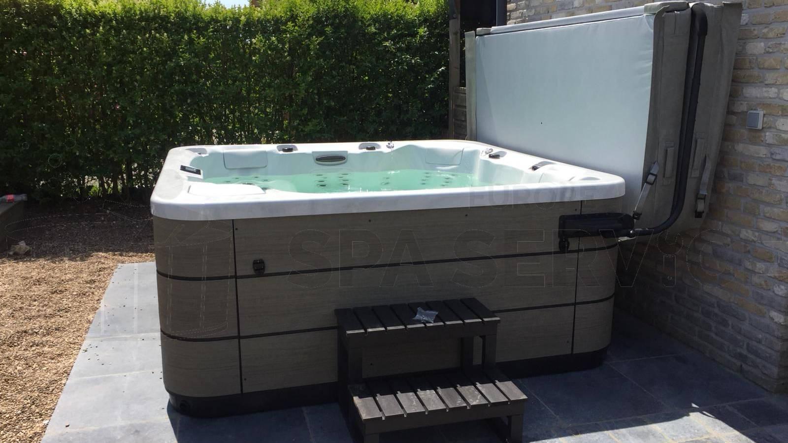 Plaatsing van een Aqua via spa in Sint-Gillis-Waas België