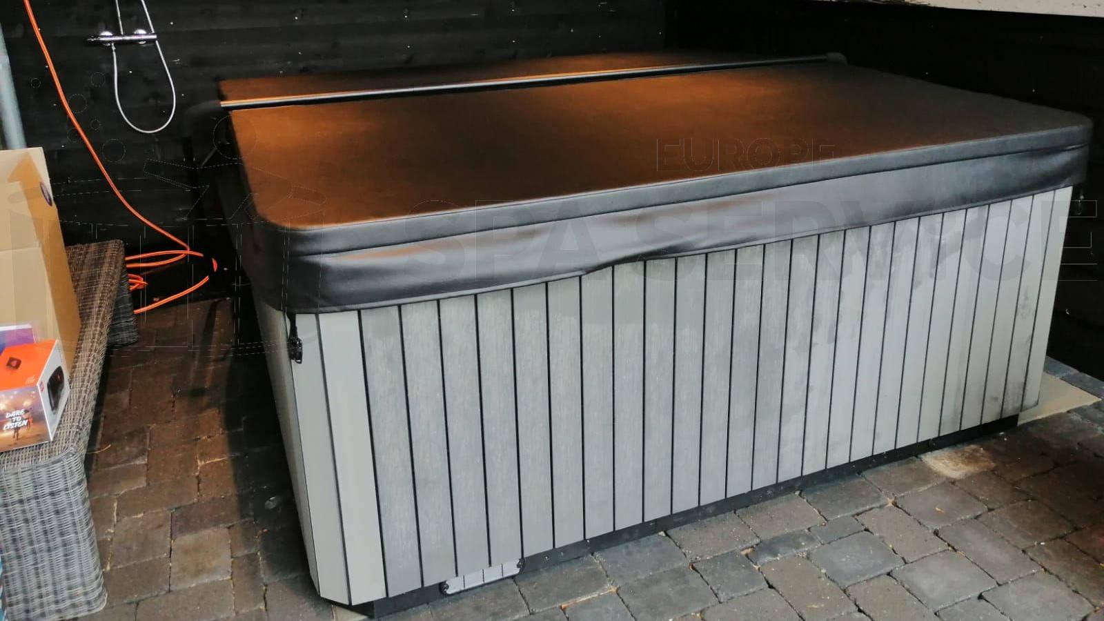 Plaatsing van een spa in Moerkapelle