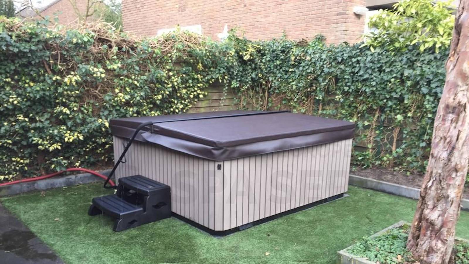 Plaatsing van een spa in Bilthoven