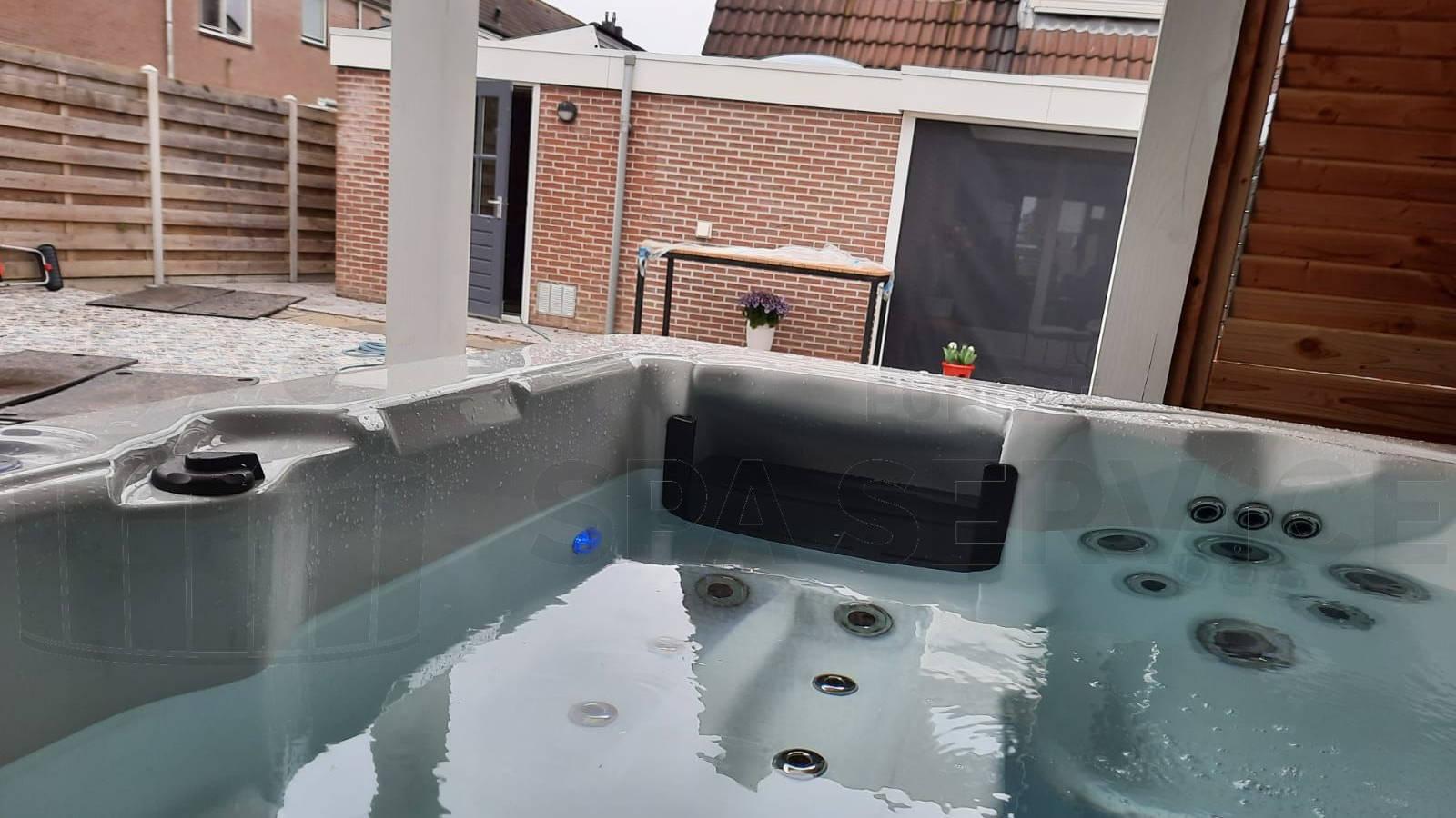 Plaatsing van een spa in Zierikzee
