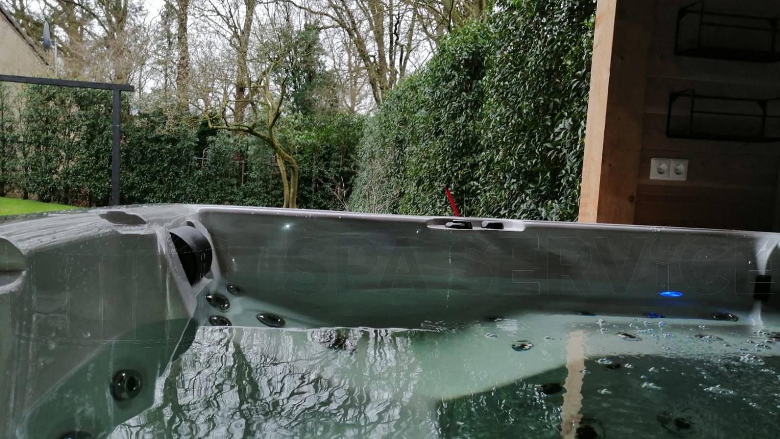 Plaatsing van een spa in Pellenberg België