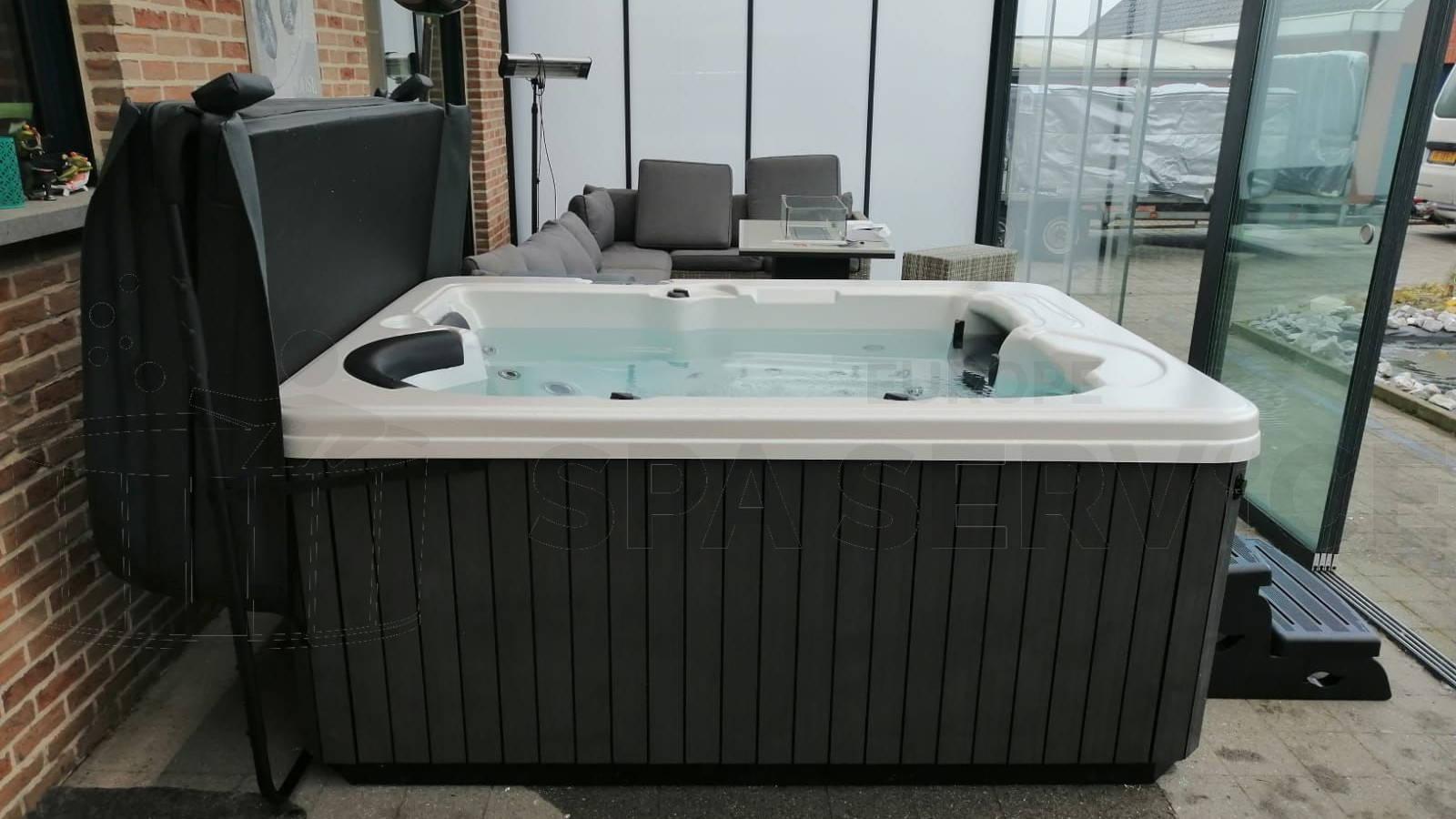 Plaatsing van een spa in Tongeren België