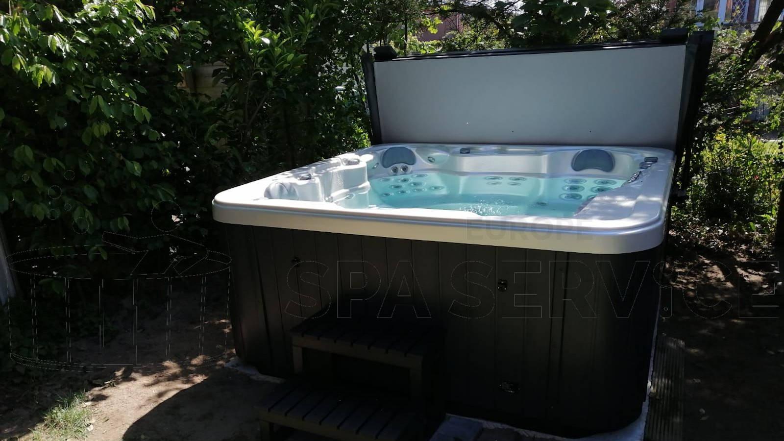 Plaatsing van een spa in Kontich België