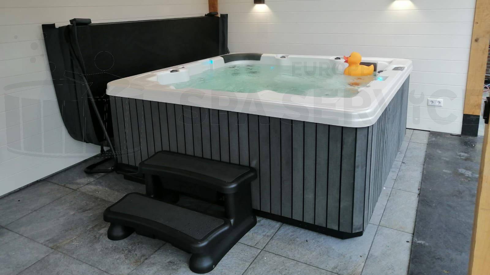 2de plaatsing van een spa in Berkel en Rodenrijs