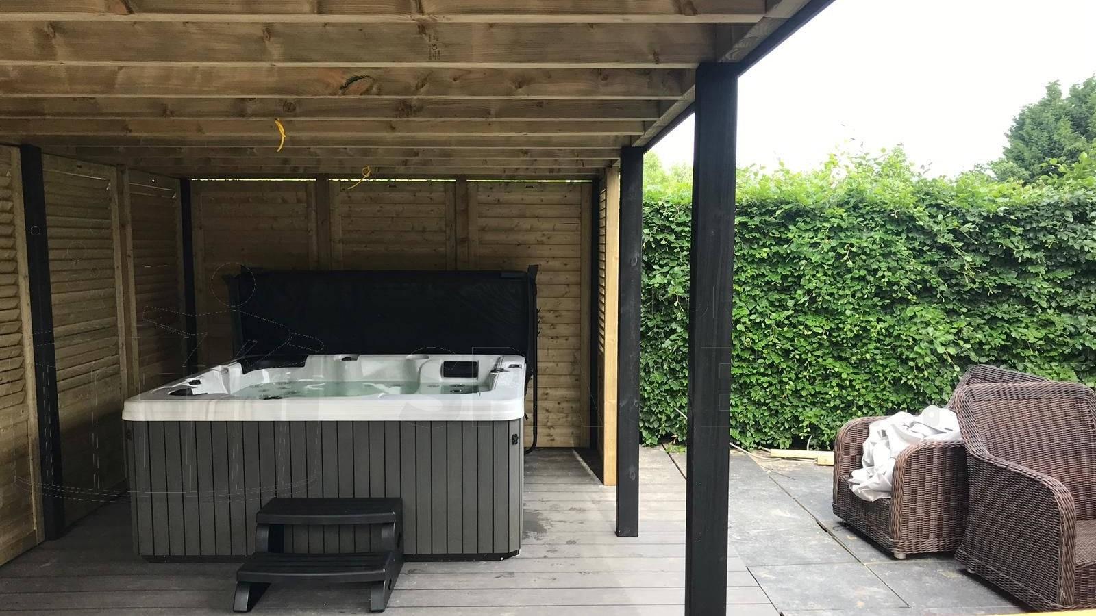 Plaatsing van een spa in Culemborg