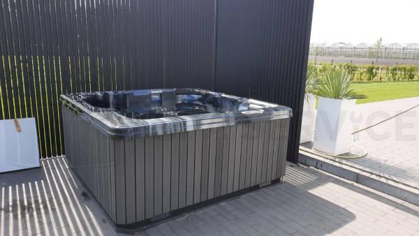 Plaatsing van een spa in Oosterhout