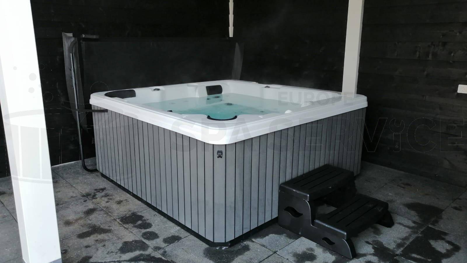 Plaatsing van een spa in Rhoon
