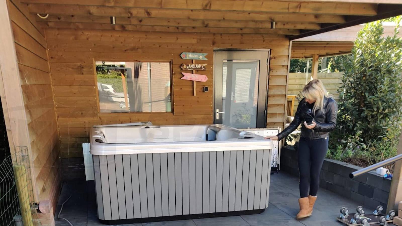 Plaatsing van een spa in Berlicum