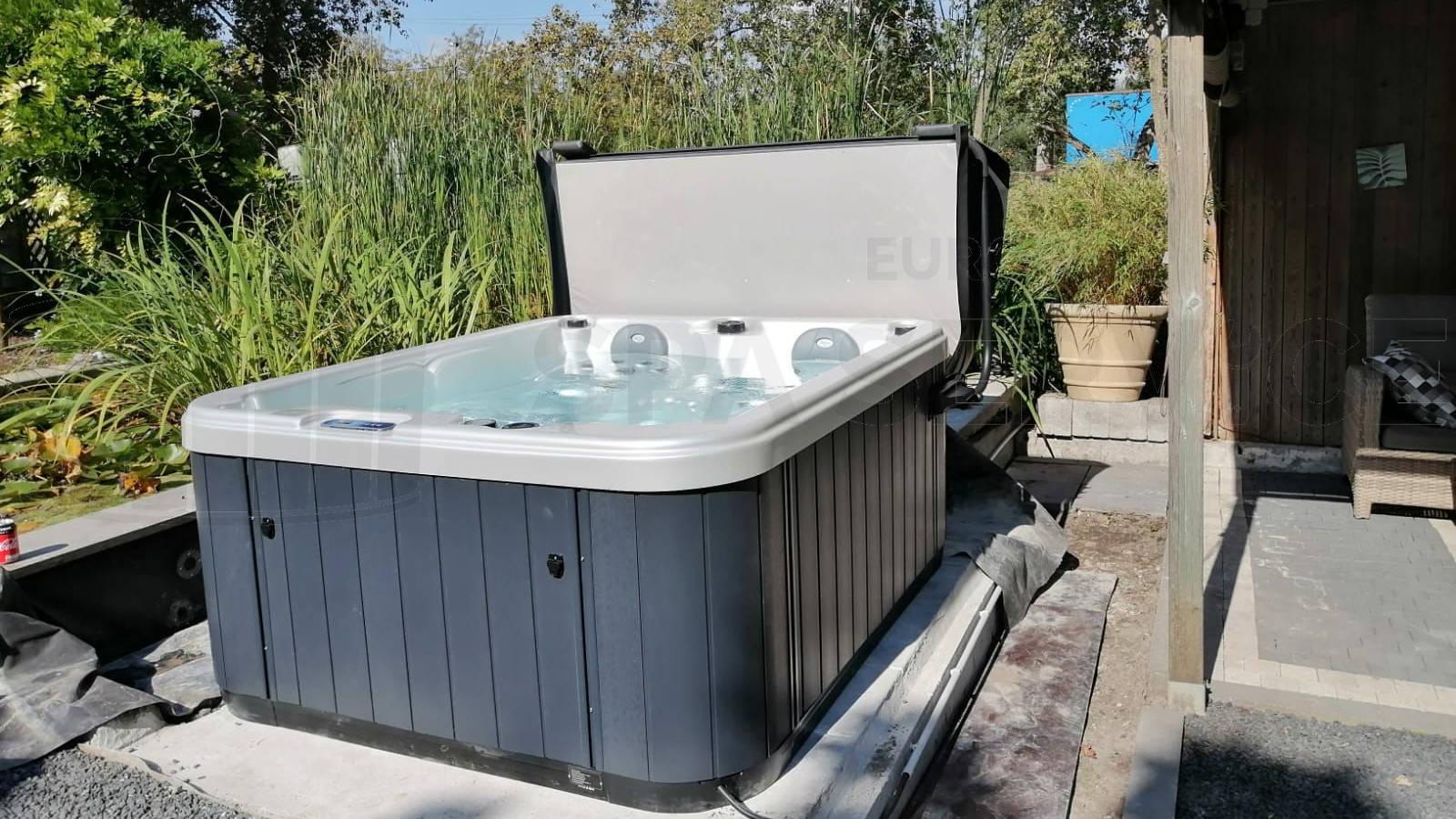 Plaatsing van een spa in Rupelmonde België