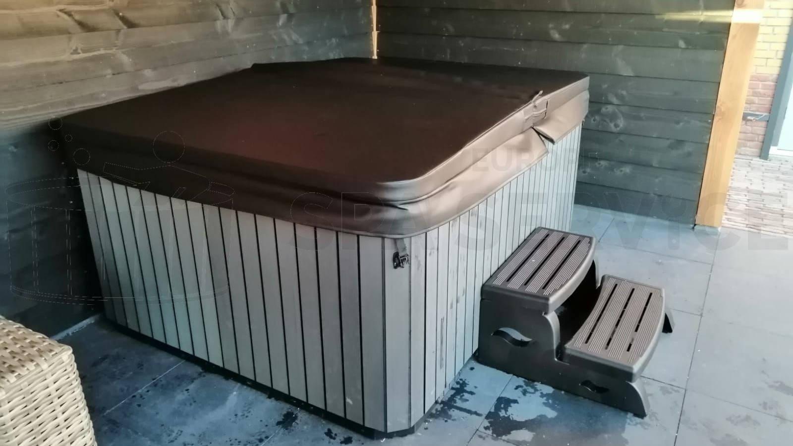 Plaatsing van een spa in Papendrecht