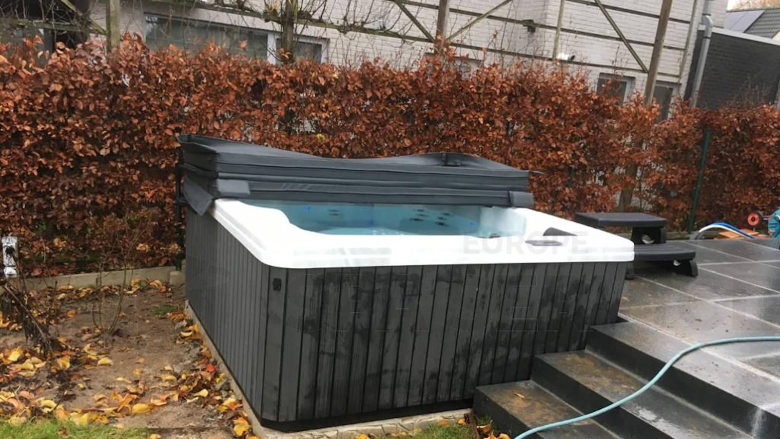 Plaatsing van een spa in Geraardbergen België