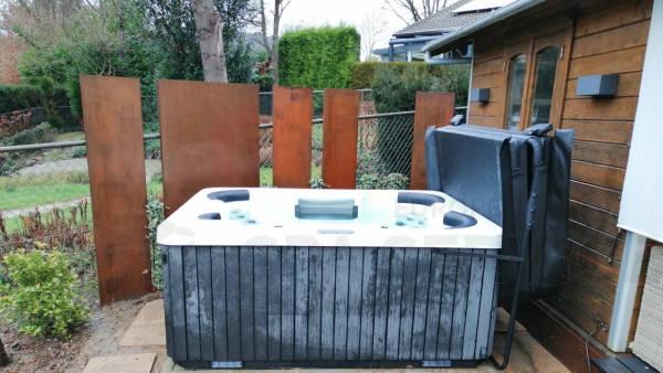 Plaatsing van een spa in Landgraaf