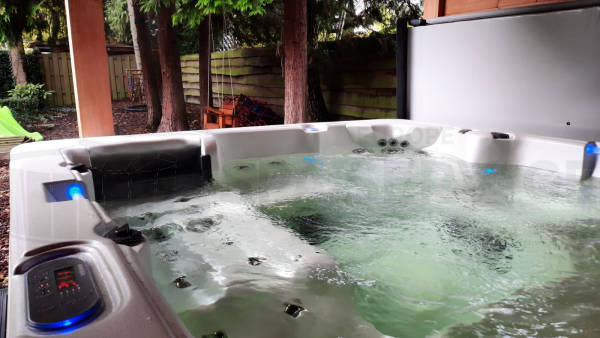 Plaatsing van een spa in Kaatsheuvel