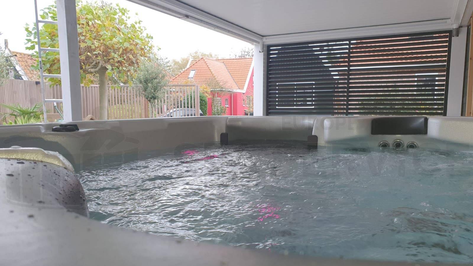 Plaatsing van een spa in Markenbinnen