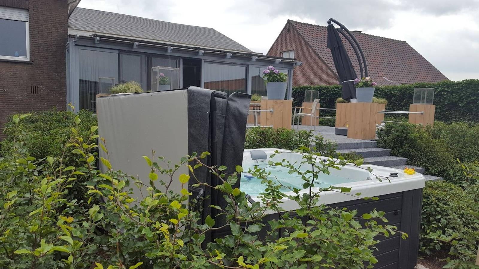 Plaatsing Allseas spa - Kalmthout (België)