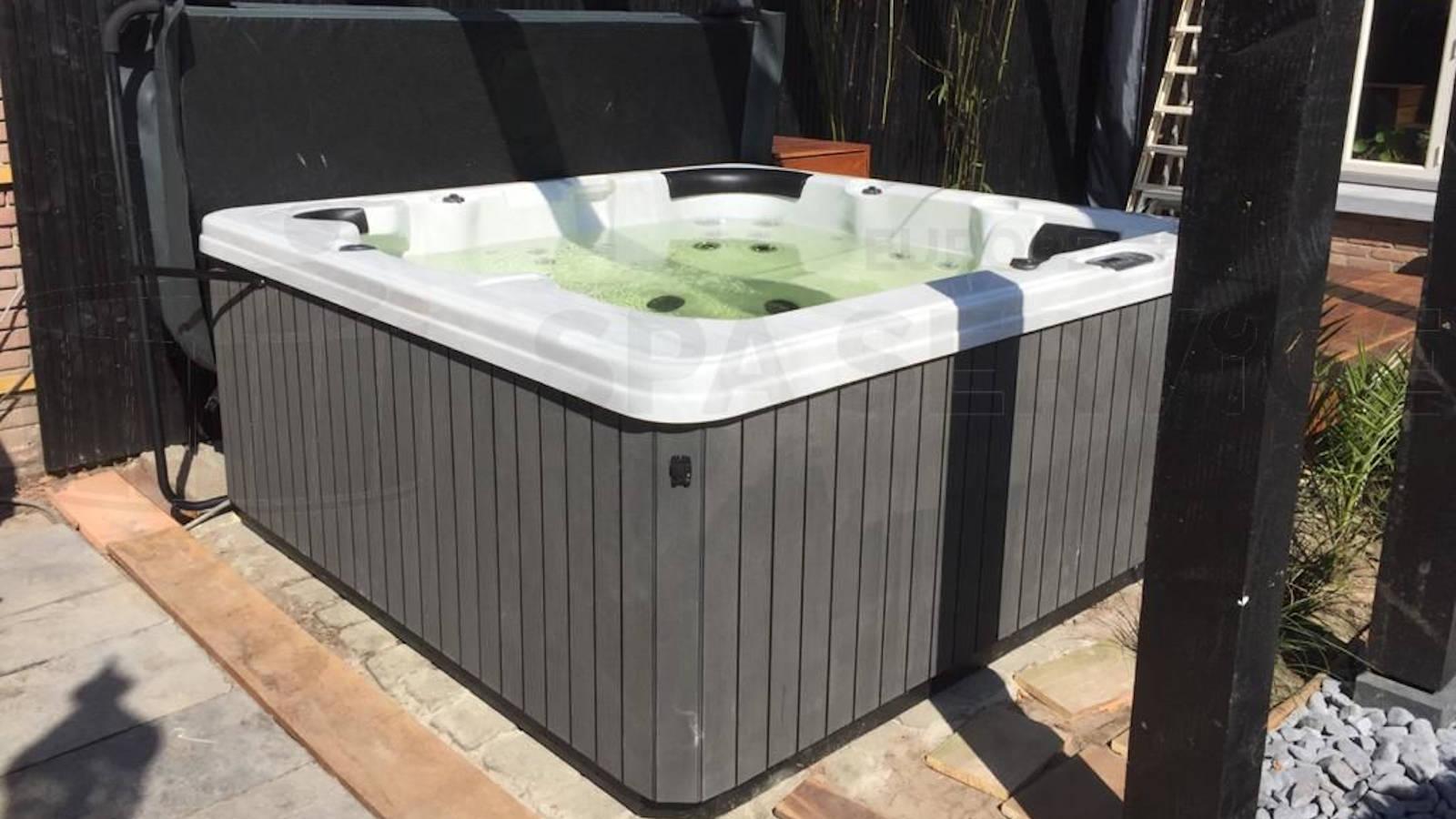 Plaatsing van een spa in Veghel