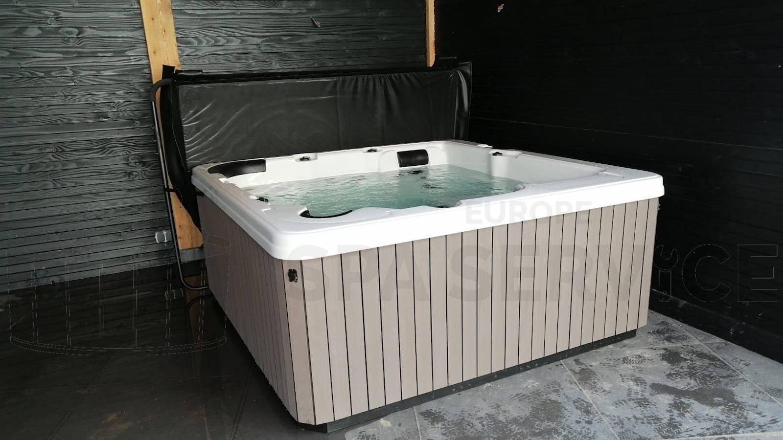 Plaatsing van een spa in Badhoevedorp