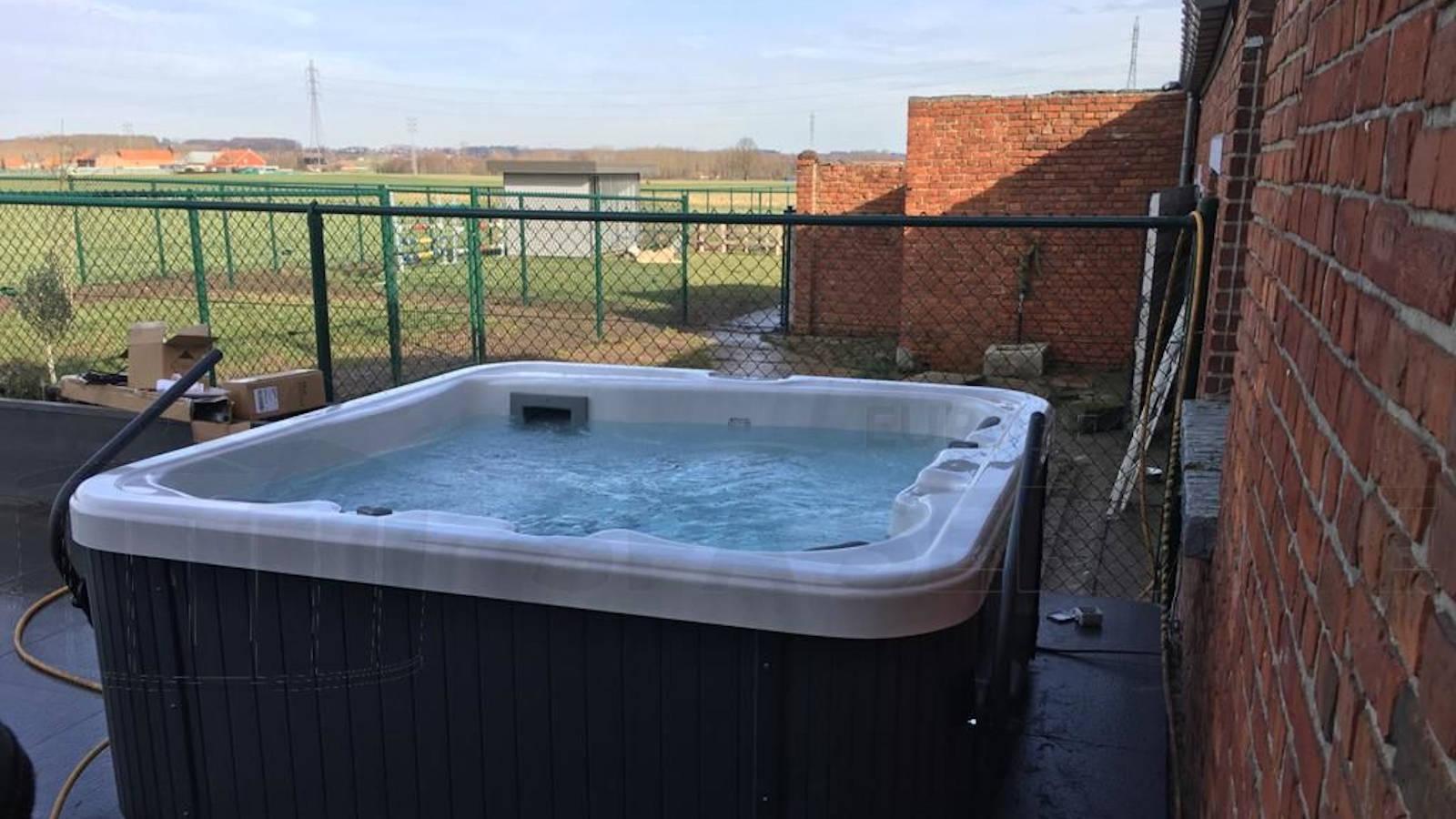 Plaatsing van een spa in Kumtich België