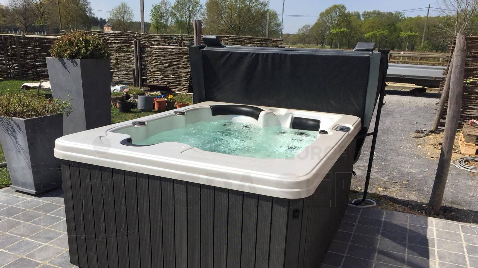Plaatsing van een spa in Herselt België