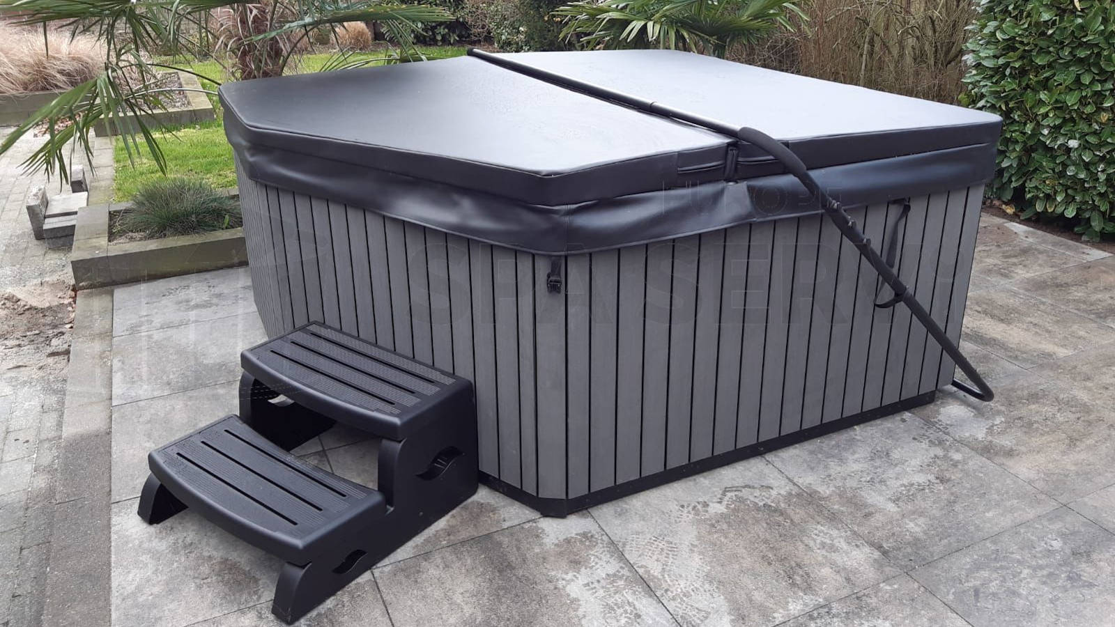 Plaatsing van een spa in Reuver