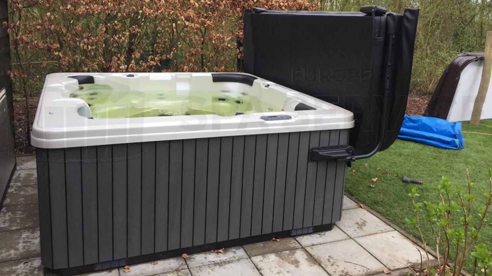 Plaatsing van een spa in Rijswijk