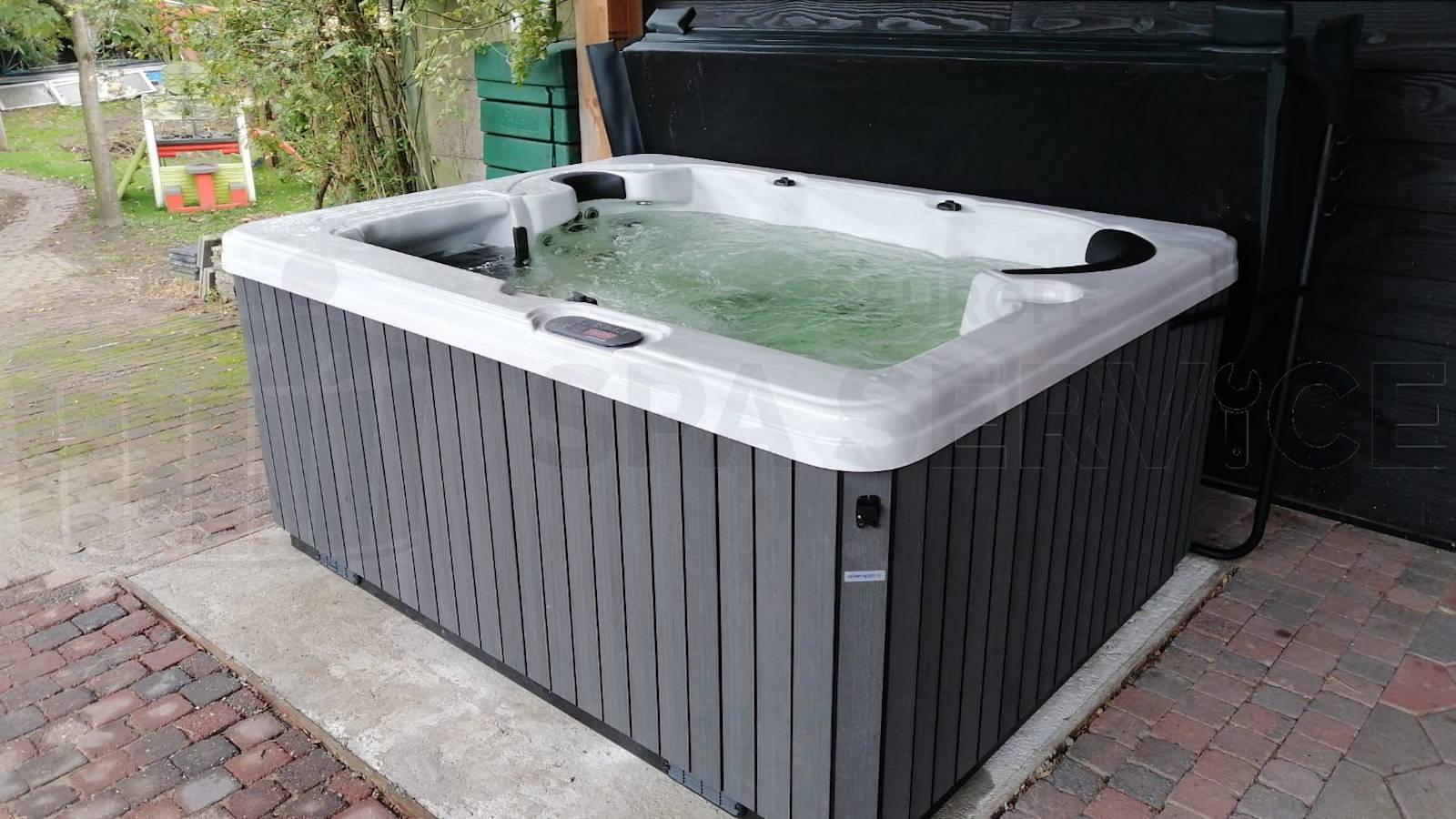 Plaatsing van een spa in Meersel-Dreef België