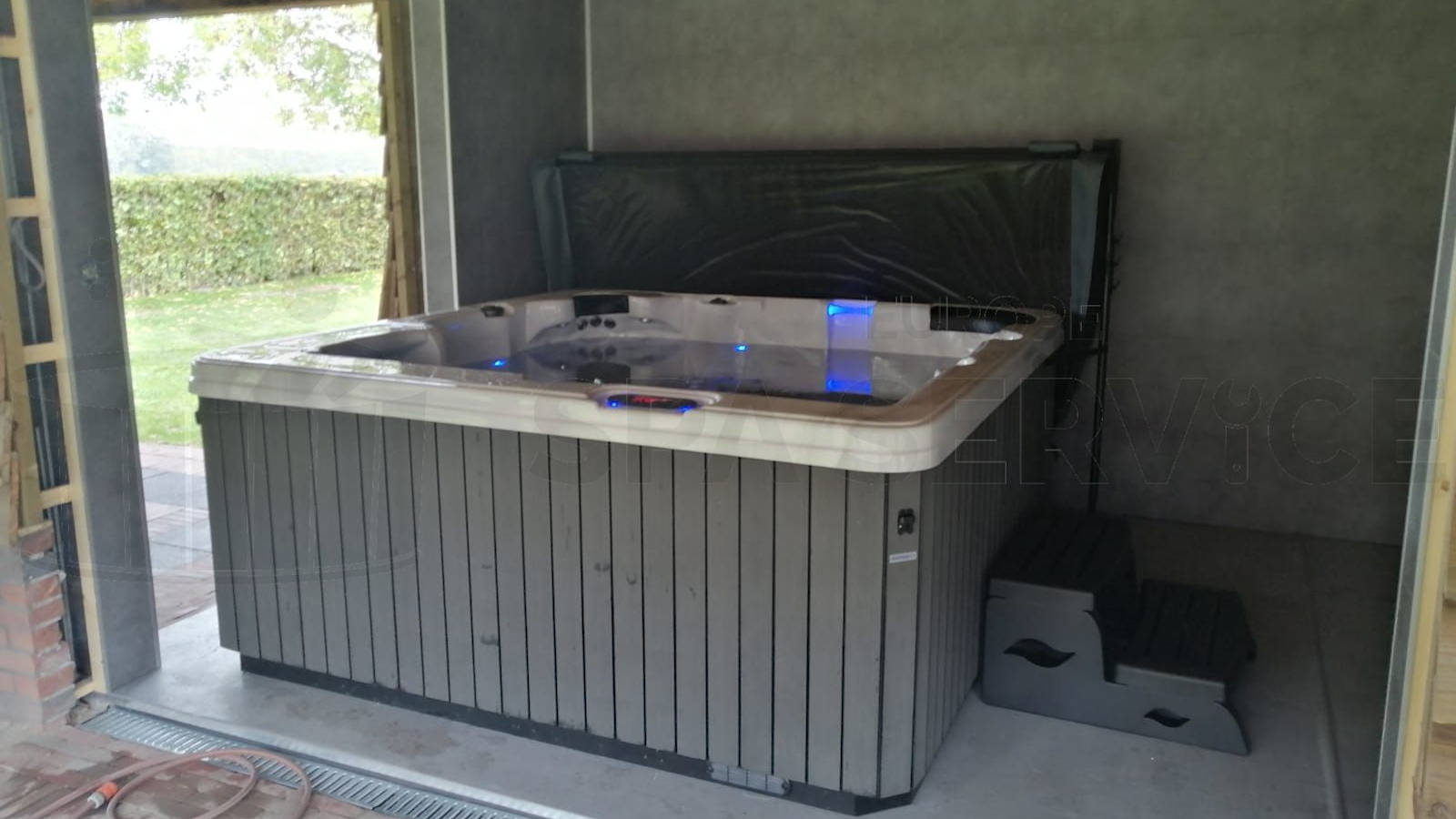 Plaatsing van een spa in Udenhout