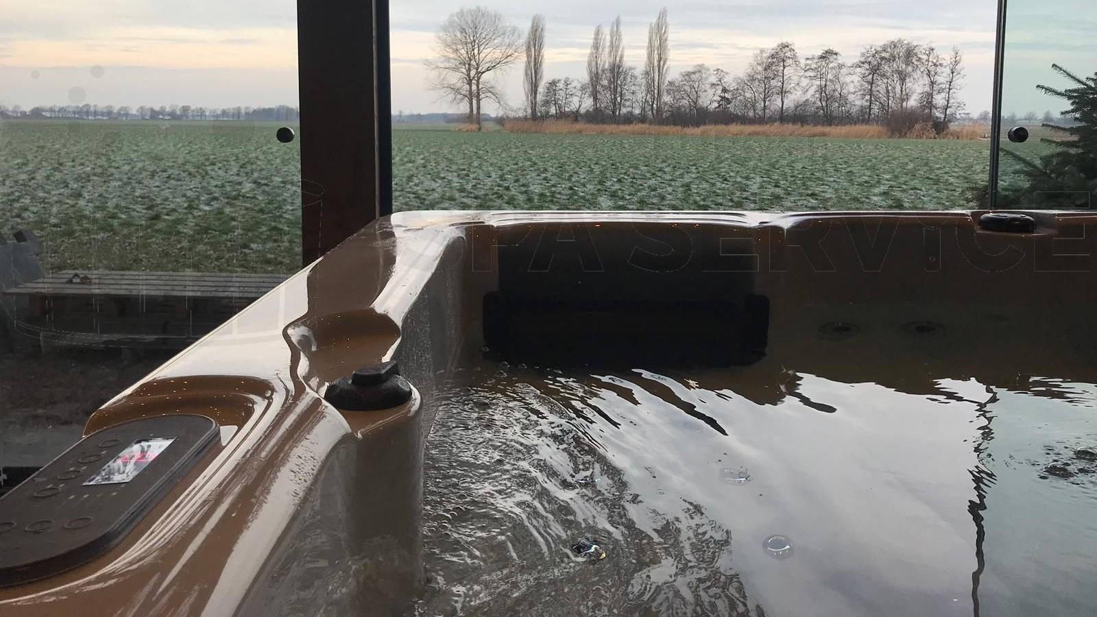 Plaatsing van een spa in Nederweert