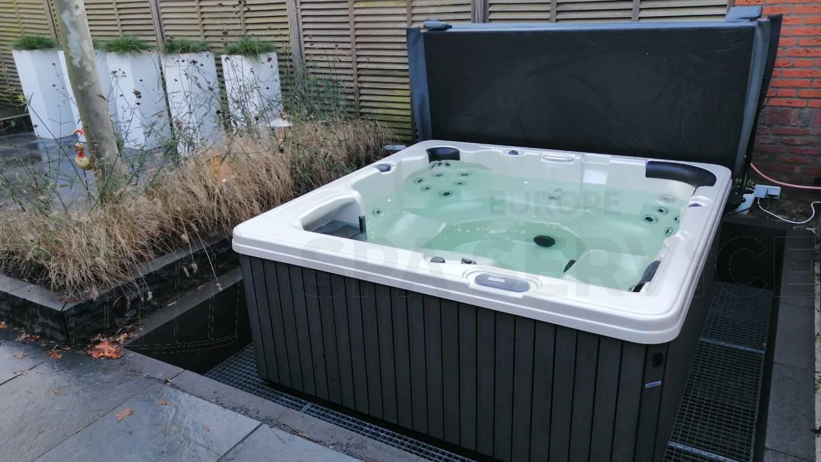 Plaatsing van een spa in Den Haag