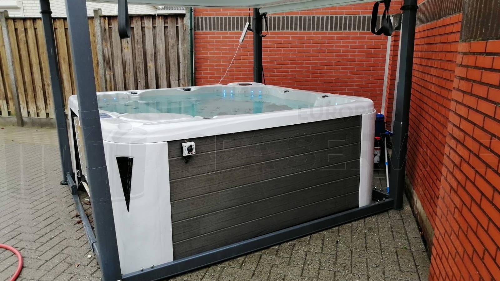 Ombouw van een spa naar Balboa technologie in Maastricht