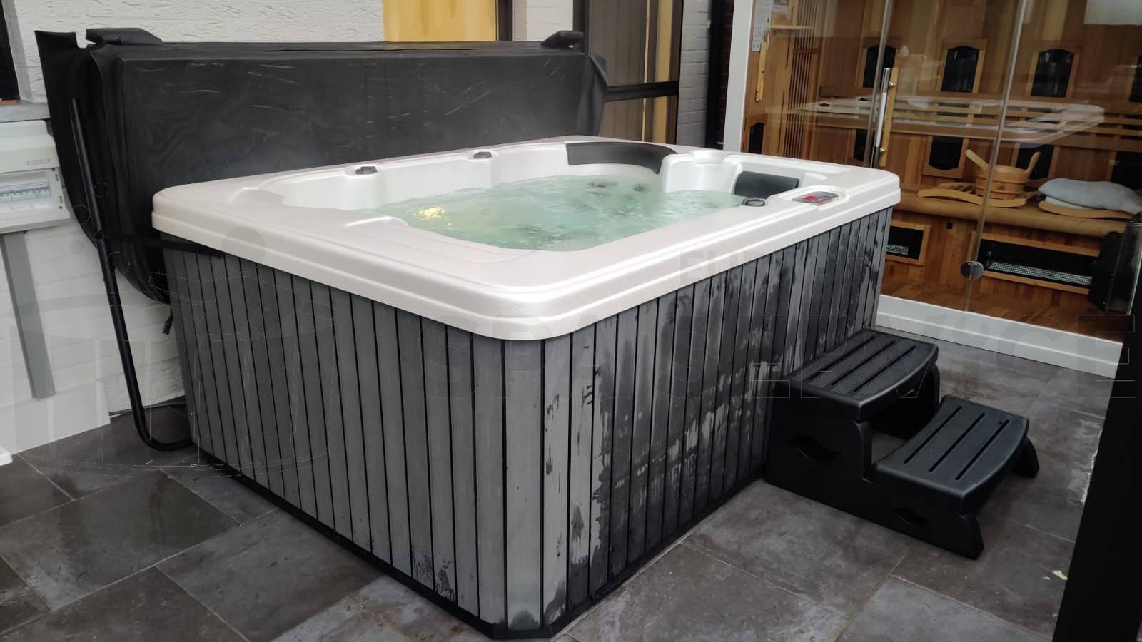 Plaatsing van een spa in Herentals België