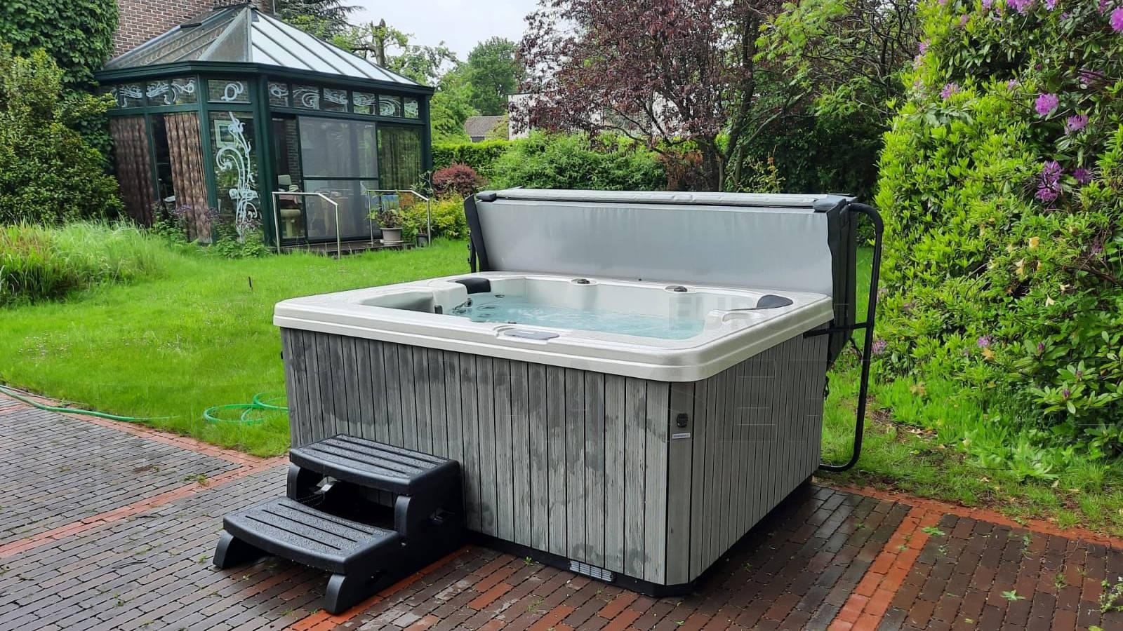 Plaatsing van een spa in Hove België