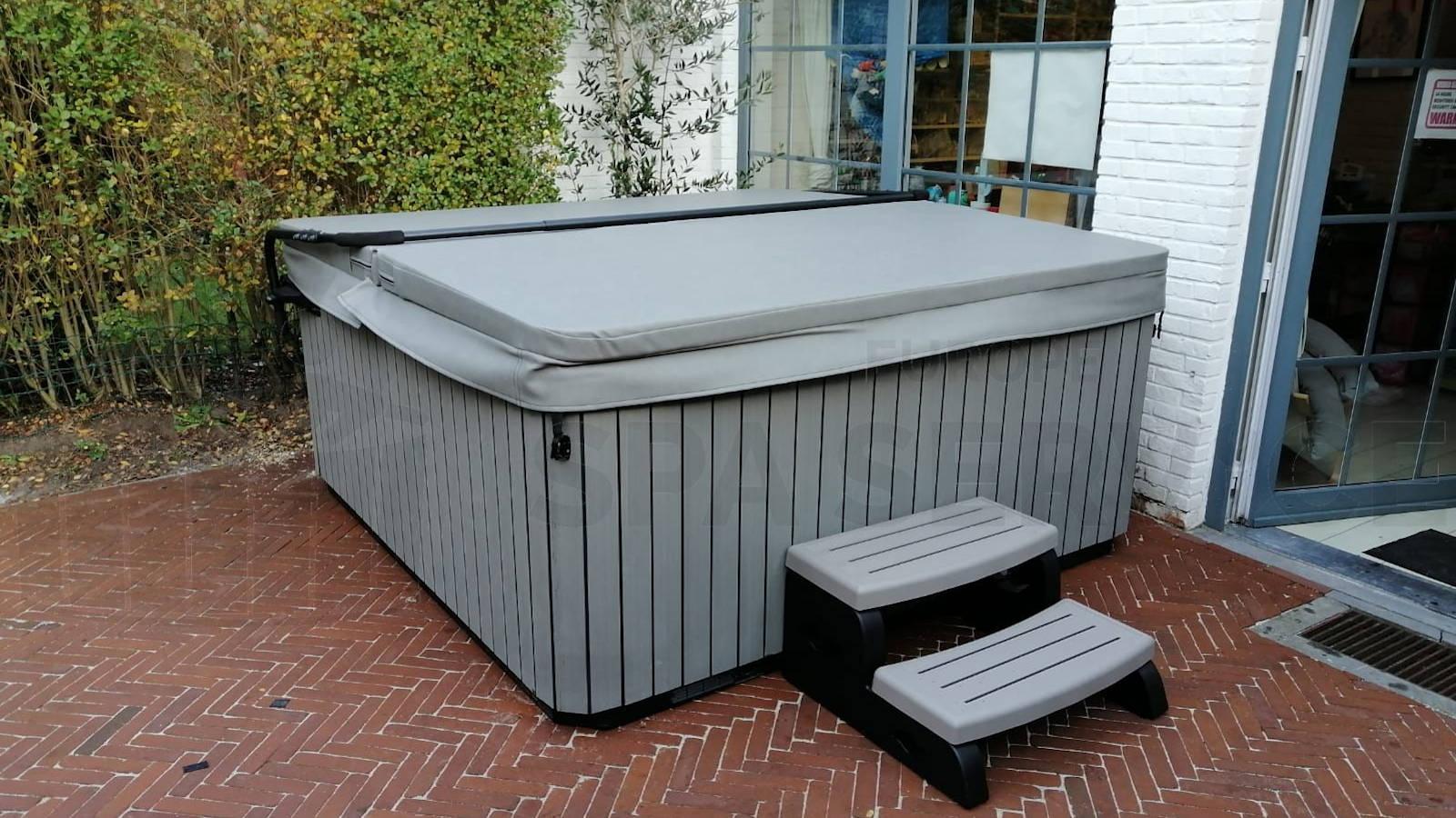 Plaatsing van een spa in Wilrijk België
