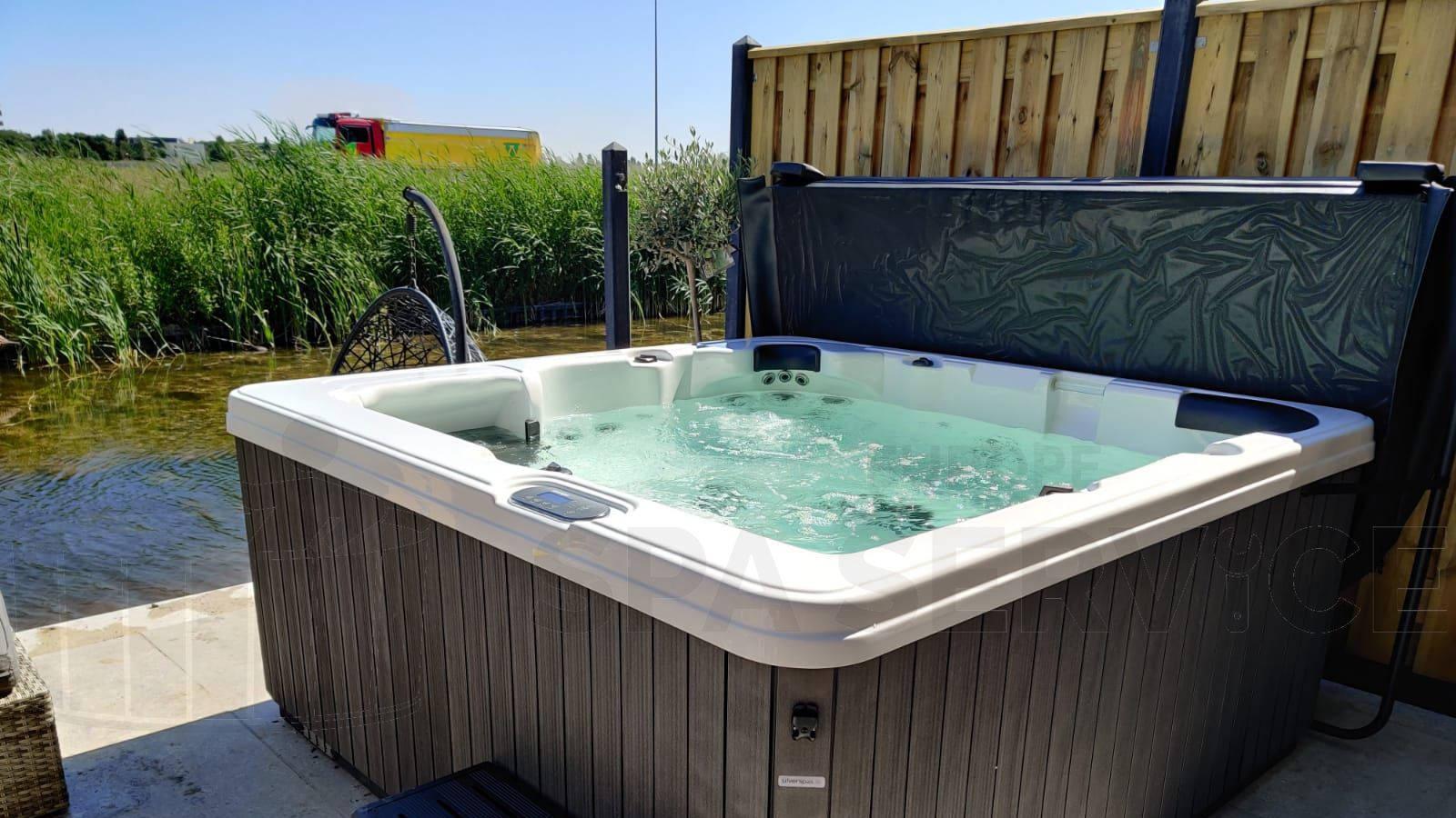 Plaatsing van een spa in Lelystad