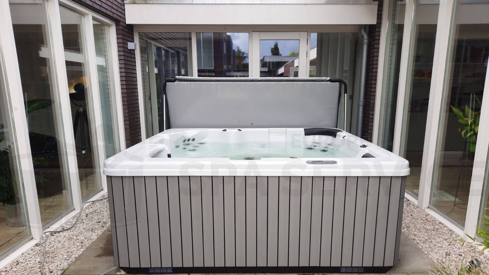 Plaatsing van een spa in Groningen