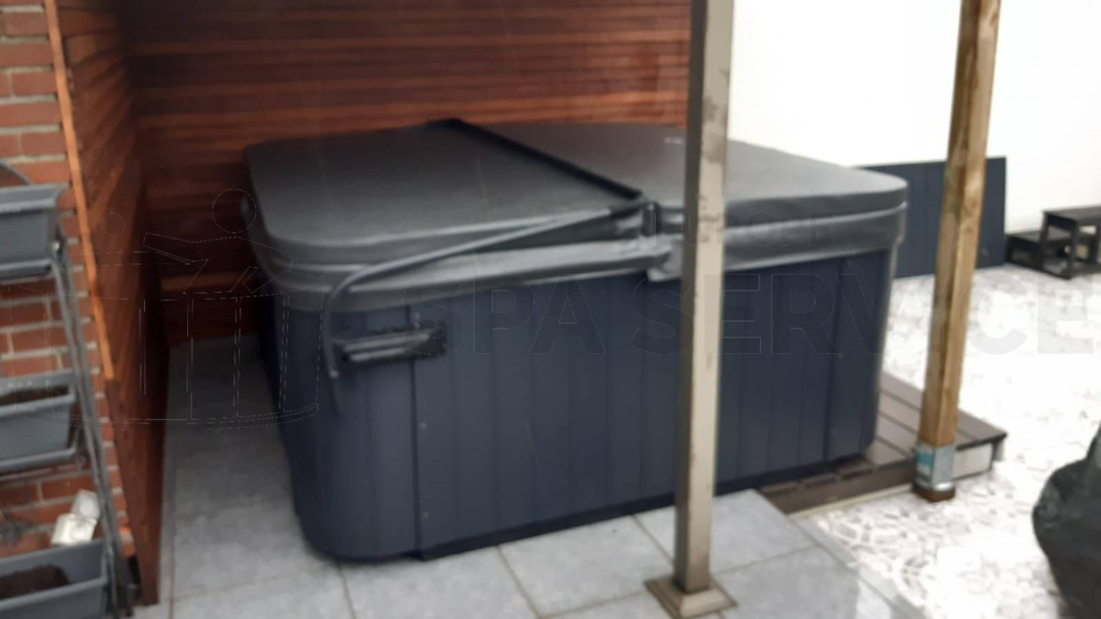 Plaatsing van een spa in Mechelen België