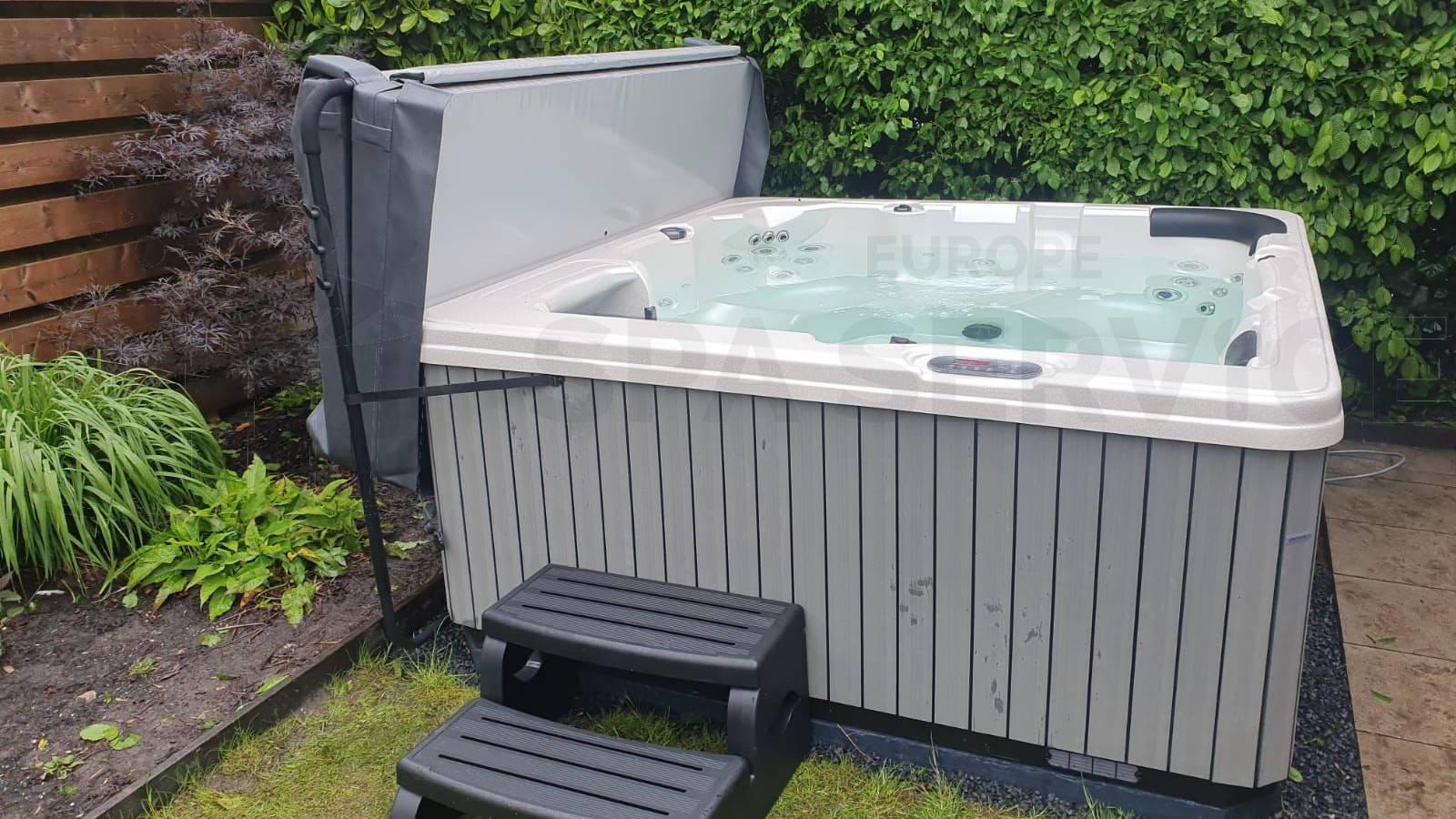 Plaatsing van een spa in Bergen
