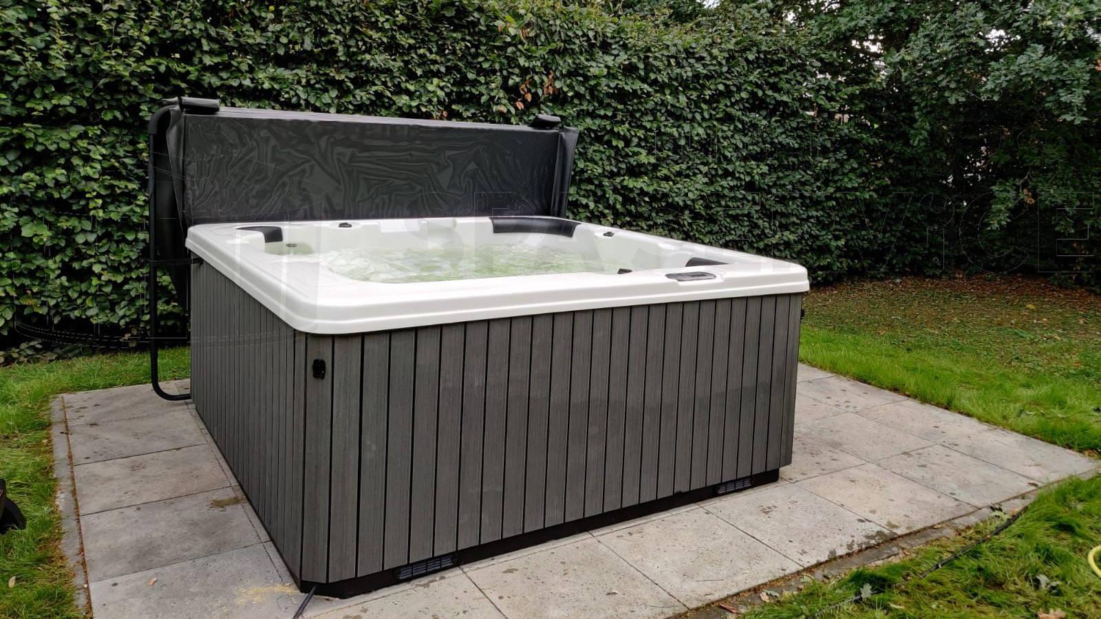 Plaatsing van een spa in Poppel België