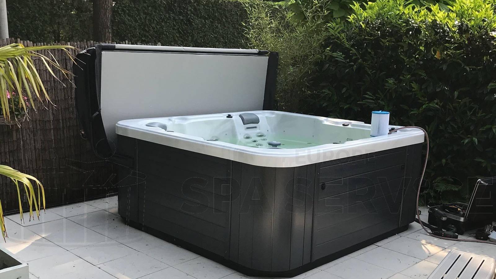 Plaatsing Allseas OS 402 spa in Putte