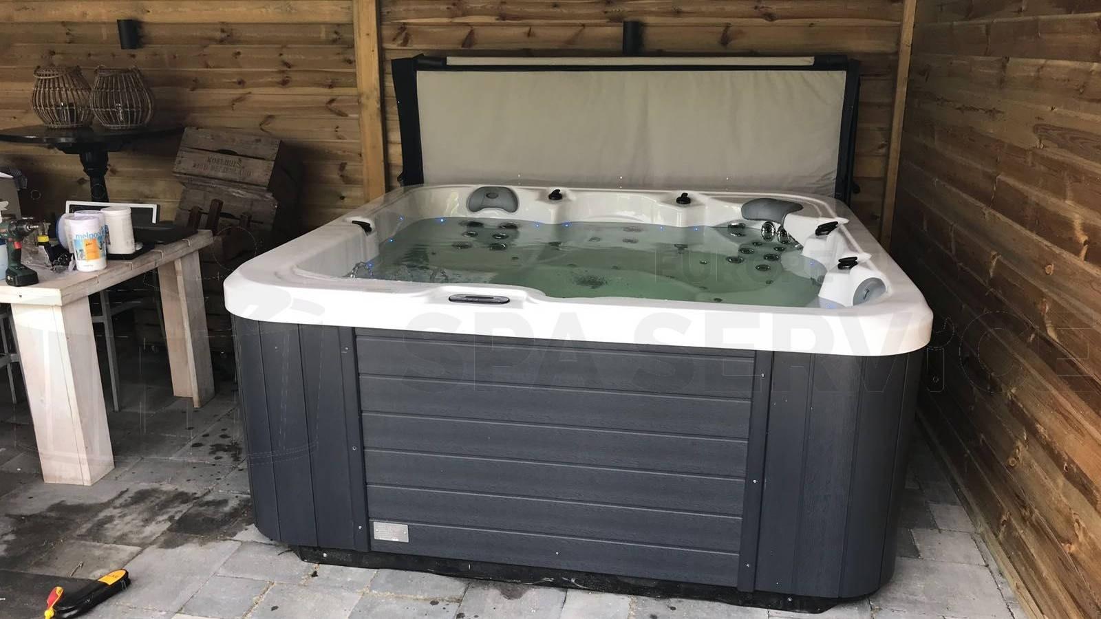 Plaatsing Allseas OS 502 spa in Kruisland