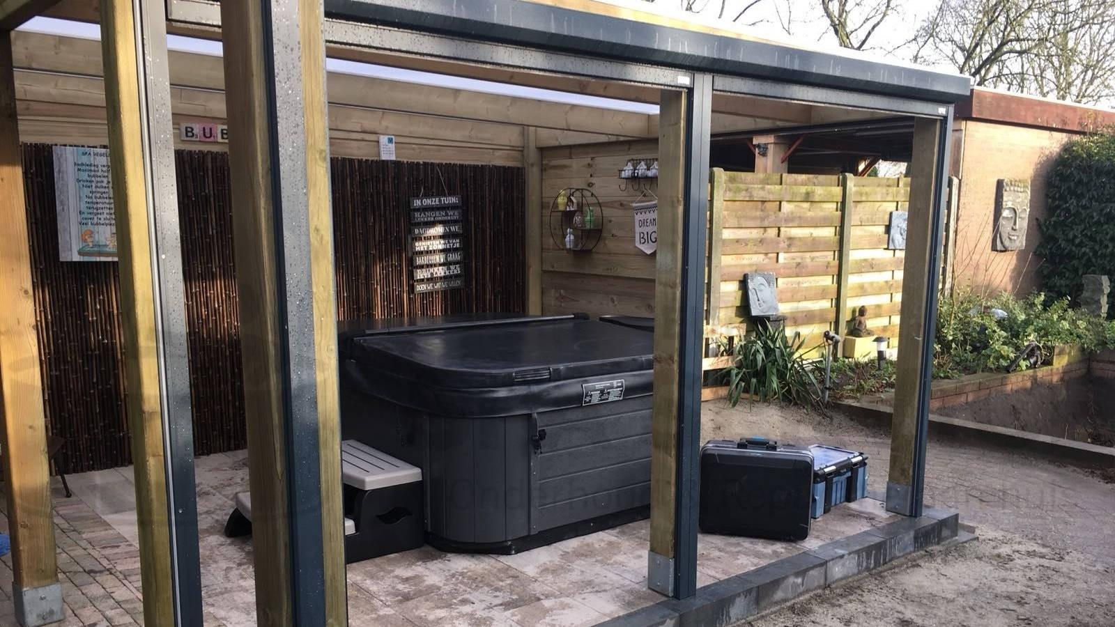 Plaatsing Allseas spa in Halsteren