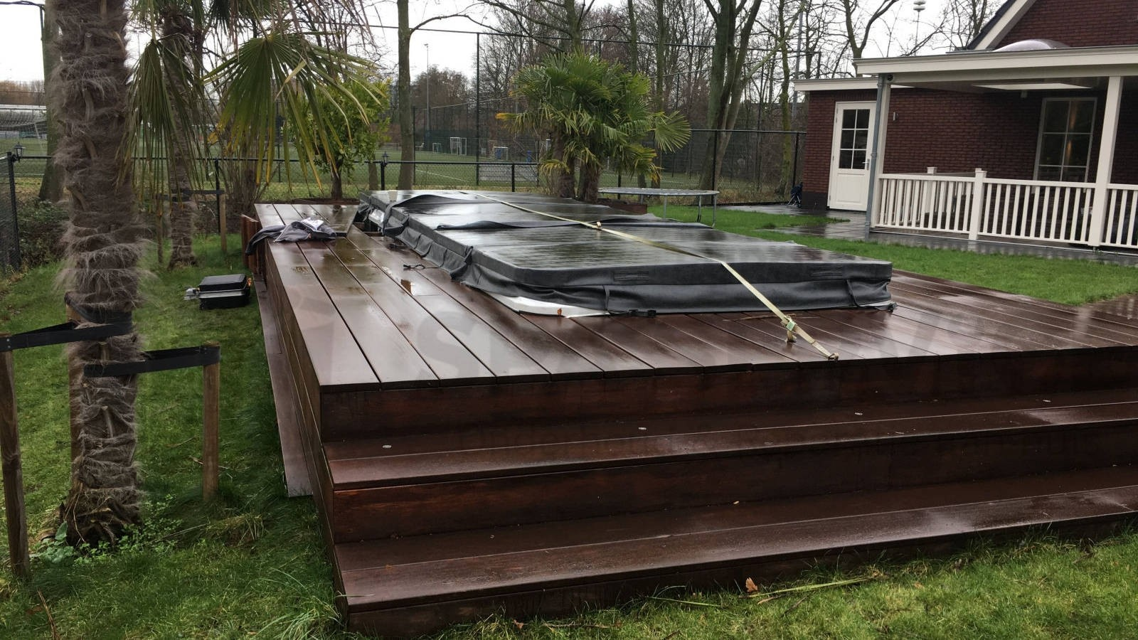 Reparatie centrale verwarmingseenheid van een Passion DUO Swimspa in Capelle a/d IJssel