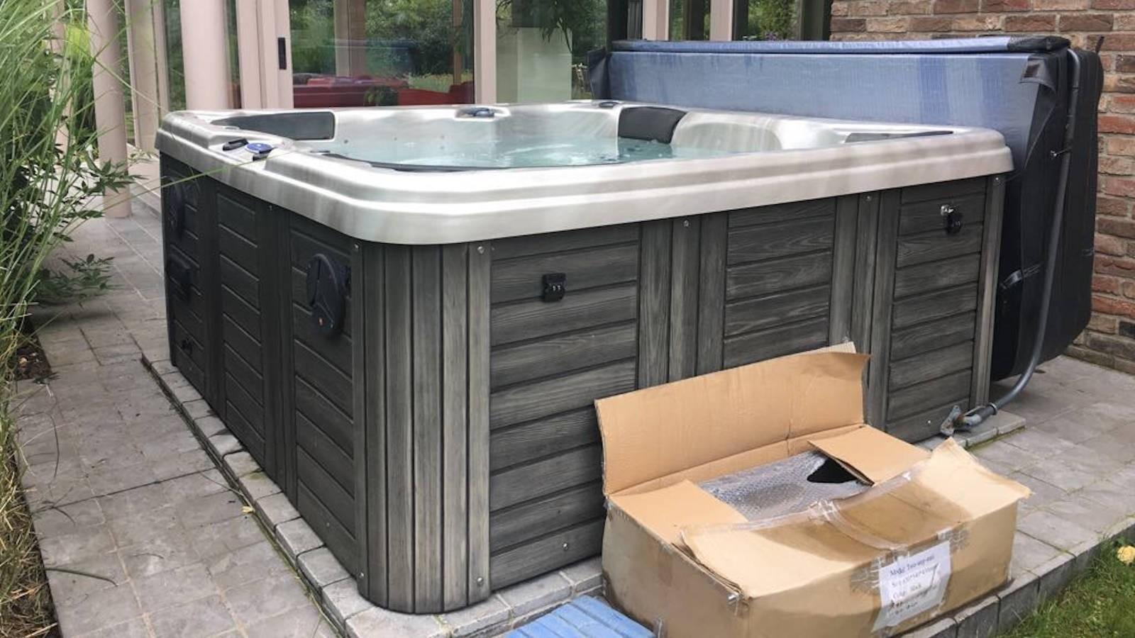 Reparatie lekkage aan spa in Kessel-Lo - België