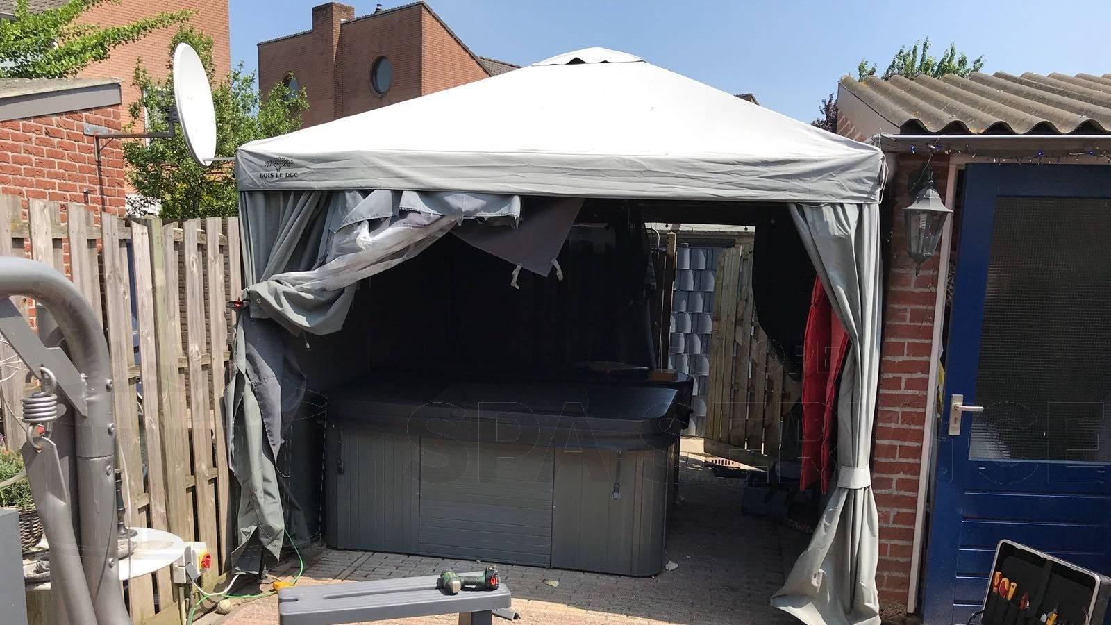 Reparatie lekkage en speaker vervangen van een Sunspa spa in Etten-Leur