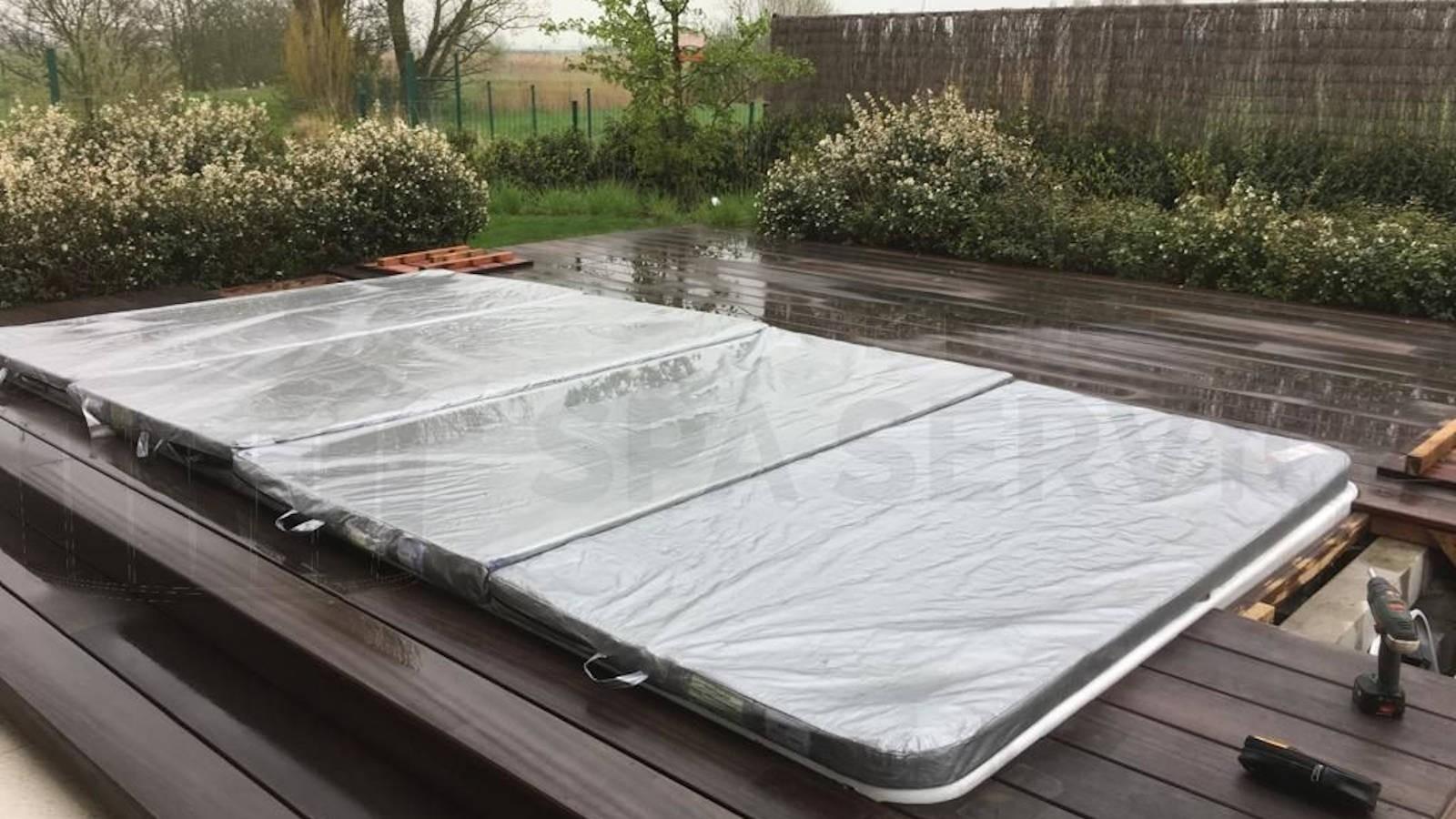 Reparatie Allseas Exercise Pool 46 zwemspa in Oostende België