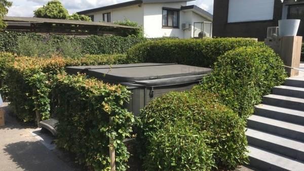 Reparatie blower van een Allseas Pendeloque spa in Kalmthout België